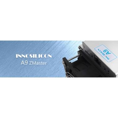 antminer innosilicon A9 ZMaster Equihash