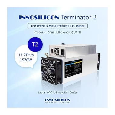 INNOSILICON Terminator 2 (T2) Miner